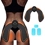 Micro-Electronic Buttock Muscle Toner EMS Hips Trainer with 3 pcs Replacement Gel Pads, Smart ABS Butt Lifting Buttocks Shaper for Women Fitness, Helps to Lift, Shape and Firm The Butt