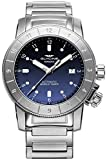 Glycine Airman Mens Analog Swiss Automatic Watch with Stainless Steel Bracelet GL0175