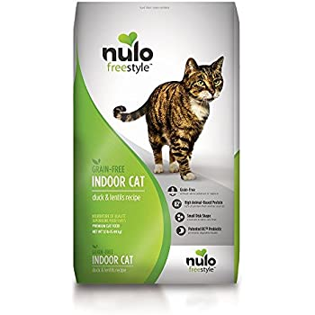 Nulo Grain Free Dry Cat Food with BC30 Probiotic (Indoor, 12lb Bag)