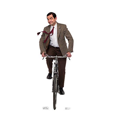 Mr. Bean Bike Ride - Advanced Graphics Life Size Cardboard Standup
