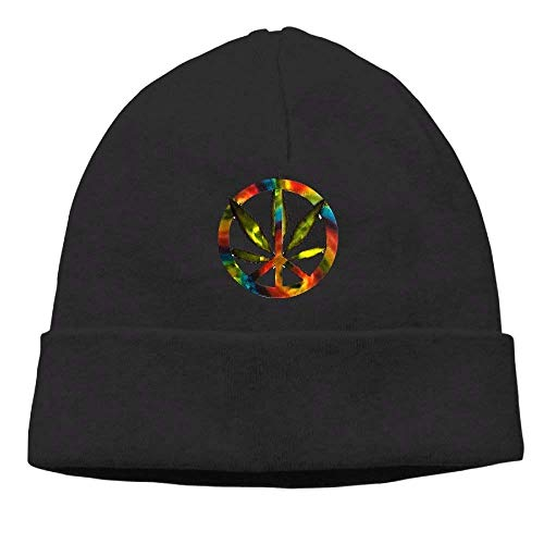 Unisex Daily Beanie Peace Gorras Fashion Colorful Hat Cannabis Classic NDJHEH Skull Cap béisbol Sign xzEFBqqw6