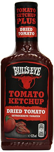 Bull's-Eye Dried Tomato Ketchup, Dosierflasche, 525 ml, 2er Pack (2 x 525 ml)
