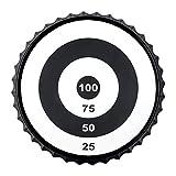 True Bullseye Magnetic Bottle Cap Target Game by True, Black