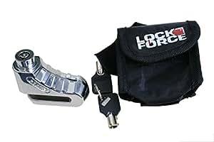 Lock Force 801060 - Candado para disco de freno (funda incluida)