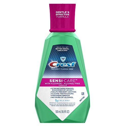 Crest Sensi-Care Mild Mint Flavor Rinse 500 mL