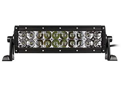 Rigid Light Bar >> Rigid Industries 10 E Series Led Light Bar Spot Flood Combo White Led