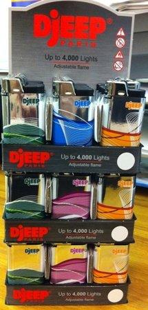 Metallic Luxury Lighter Lighters Display