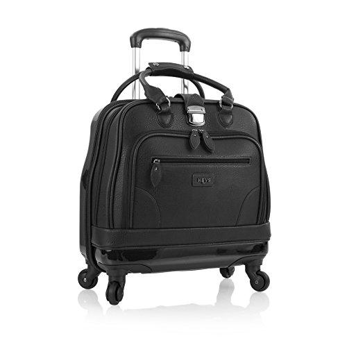 Heys America Nottingham Executive Business Case Rolling Luggage, Black - Executive Business Case