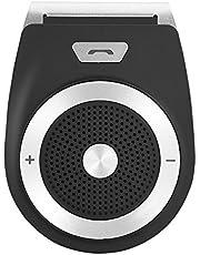 Bluetooth in-car Speakerphone, Smart Wireless Bluetooth Hands-Free Car Kit Visor Clip Speakerphone