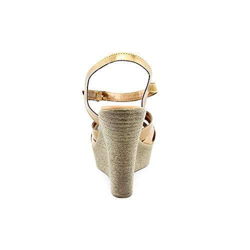 Wedge Synthetic Dessy Women Sandal Bronze Callisto qTPtAwxn