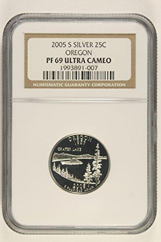 (2005 S Oregon State Quarter PF69 Ultra Cameo NGC)