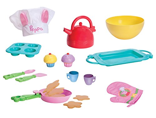 Peppa S Little Kitchen Deluxe Feature Role Play Tally Toys