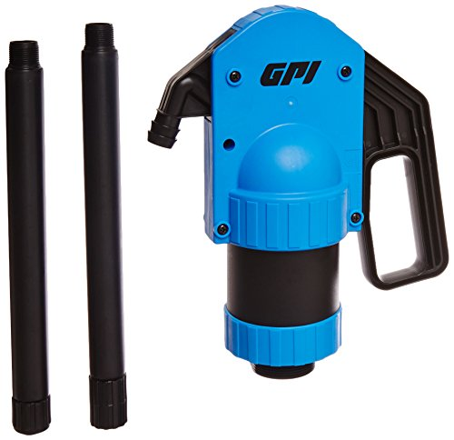 GPI 129000-1 Plastic Chemical/Oil Hand Lever Barrel Pump for 55 Gallon Barrels, LP-50 Lever, 2