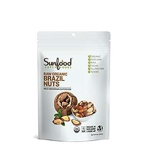 Sunfood Brazil Nuts, 8oz, Raw, Organic