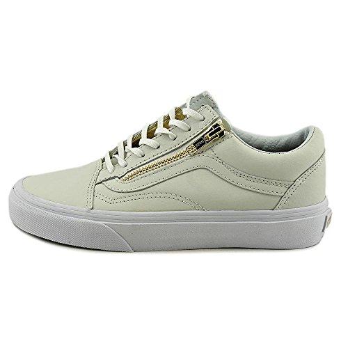 Vans Old Skool Zip - Zapatillas Unisex adulto Blanco / Oro