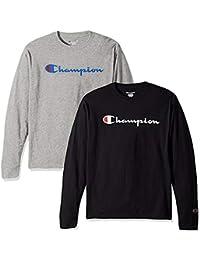 Men's Classic Jersey Script T Shirt -3 Piece Bundle...