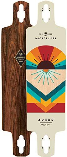 Arbor Dropcruiser Premium 2016 Longboard Deck With Grip Tape