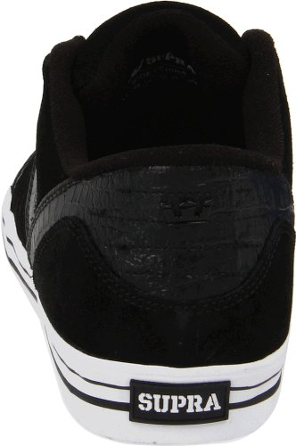 Shoes Supra Skylow Black Croc Suede Schwarz - Schwarz