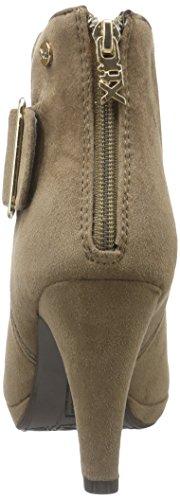 XTI 30219, Zapatillas de Estar por Casa para Mujer Beige