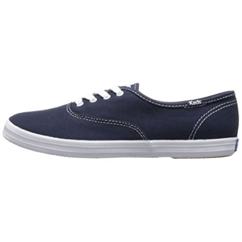 Keds womens Champion Canvas Sneaker, Navy, 5.5 X-Wide US