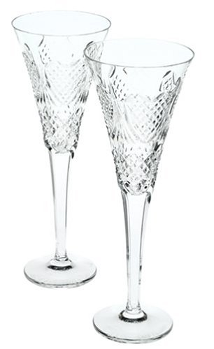 Waterford Crystal Celebration Love Champagne Flutes, Set of ()