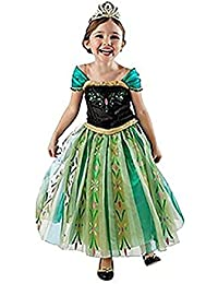 Princess Snow Queen Party Costume Dress