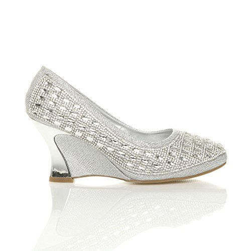 Moyen Haute Arrondie Talon Femmes Chaussures xpqv16X