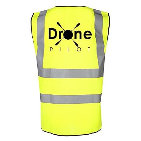 Piloto de dron Hi Viz reflectante chaleco de seguridad. Accesorios ...