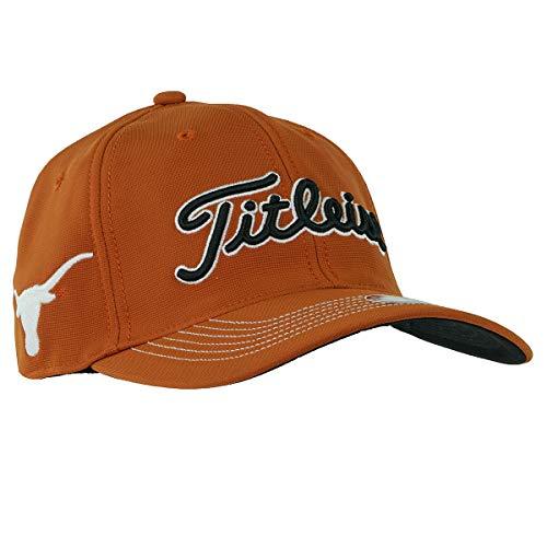 (Titleist Collegiate Texas Longhorns Fitted Golf Cap, M-L)