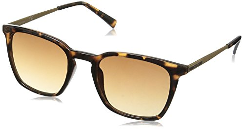 Calvin Klein R367S Square Sunglasses, Dark Tortoise, 50 - Calvin Frames Sunglass Klein