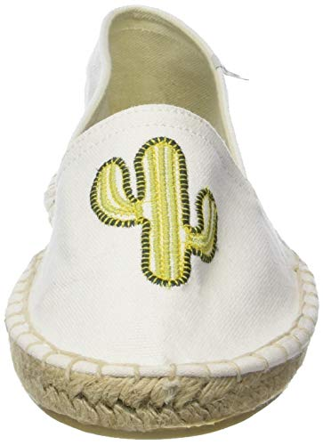 Temps Mujer cactus Des Le Alpargatas Cancun Cactus Cerises Blanco Para OxdnAB4