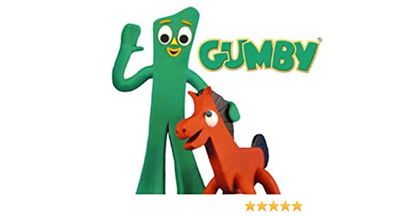 "Gumby Cartoon Collectible Glass 1/"" Logo Marble"