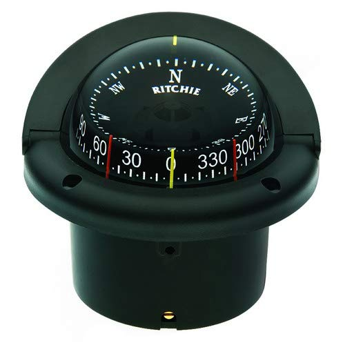 743 Helmsman Flush Mount Compass - ''Ritchie