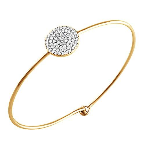 Diamond 18k Gold Bracelet - 1