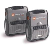 Datamax RL3-DP-50100310 RL3E Portable Label Printer, Direct Thermal, 802.11/Bluetooth 4.0 LE Dual Radio, Linerless, 64 MB/128 MB, Serial/USB