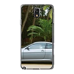 Durable Bmw 6 Series Side View Back Case/cover For Galaxy Note3