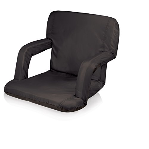 Picnic Time Portable 'Ventura' Reclining Stadium Seat, Black