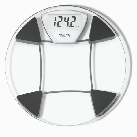 Tanita HD371 Sophisticated Comfort Glass Digital Lithium Scale