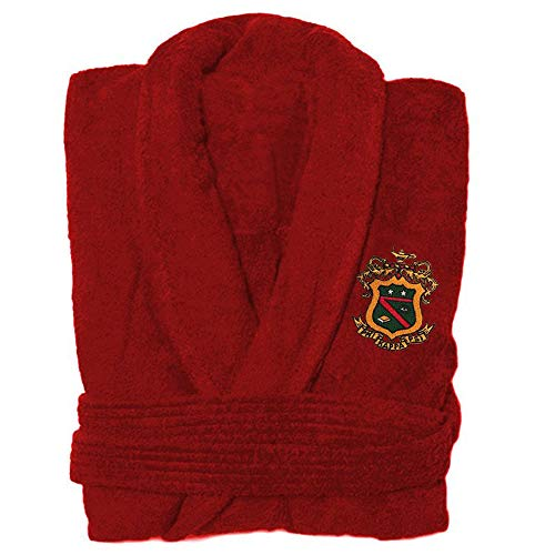 Greekgear Phi Kappa Psi Bathrobe Red