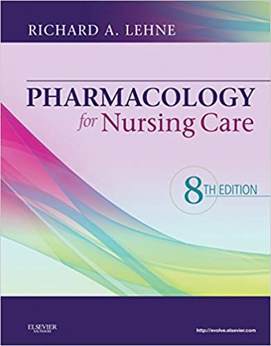 Nursing Pharmacology Book