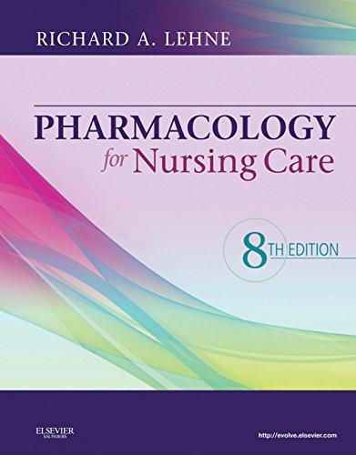 Pharmacology for Nursing Care Pdf