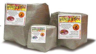 60 Gallon Wonder Pot Fabric Garden Container Planter 60-Gal 5-Pack