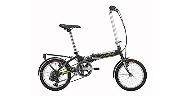 Atala - Bicicleta Folding 6 V 16 City Bike plegable Citybike Modelo 2014: Amazon.es: Deportes y aire libre