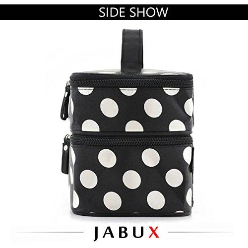 JABUX Double Layer Cosmetic Bag ...