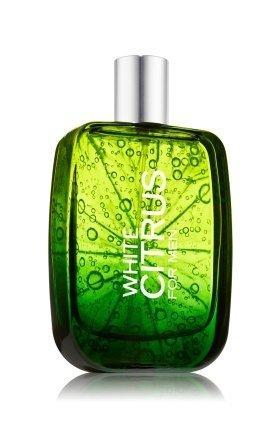 Bath & Body Works White Citrus for Men 3.4 oz Cologne Spray
