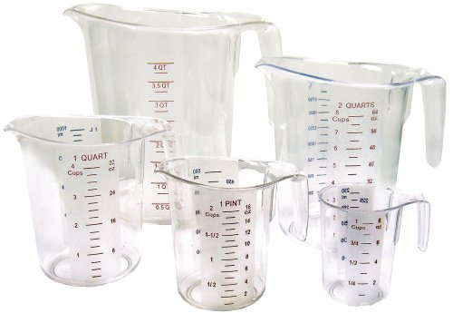 Winco 5-Piece Measuring Cup Set, ()