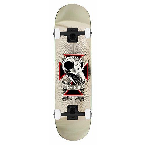 Complete Skateboard 2 Skull (Birdhouse Skateboard Complete TONY HAWK SKULL 2 CHROME 7.75