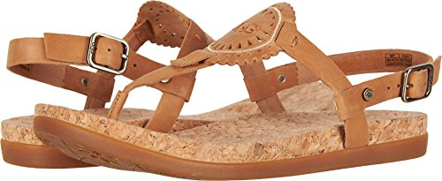 UGG Women's Ayden II Flat Sandal, Almond, 9.5 M US for sale  Delivered anywhere in USA
