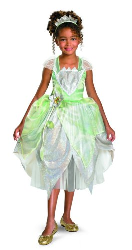 Princess Tiana Shimmer Deluxe Costume - Extra Small (3T-4T)  sc 1 st  Amazon.com & Amazon.com: Princess Tiana Shimmer Deluxe Costume: Clothing