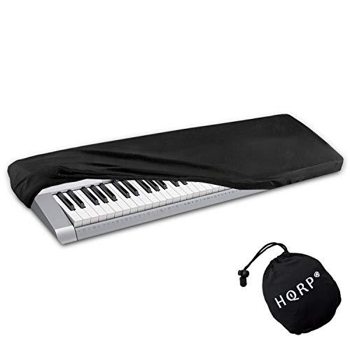 HQRP Elastic Dust Cover for Casio LK-265 LK265 LK-280 LK280 WK-6600 WK6600 WK-7600 WK7600 WK-245 WK245 Electronic Keyboards Digital Pianos plus HQRP Coaster